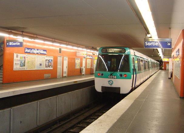 metro fort d'aubervilliers