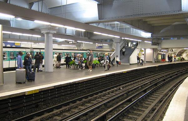 metro gare de l'est
