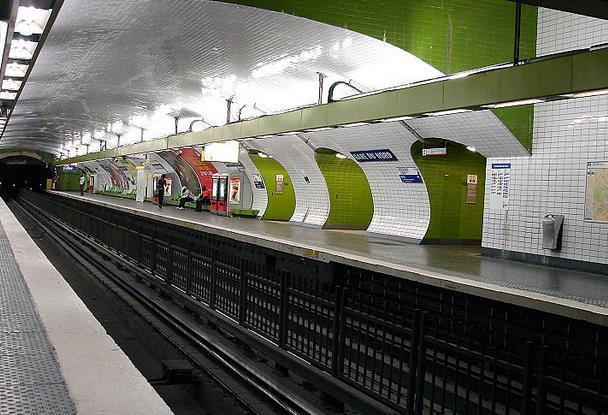 metro gare du nord