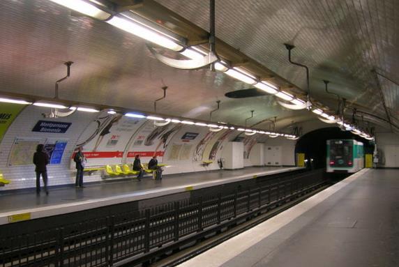 metro montparnasse bienvenue