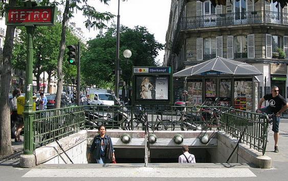 metro oberkampf