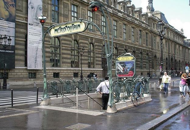 metro palais royal musee louvre