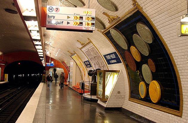 metro pont neuf