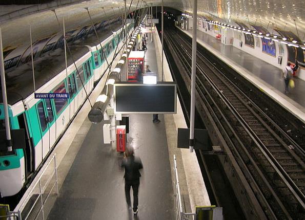 metro porte d'ivry