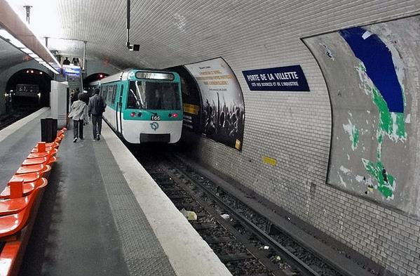 metro porte de la villette