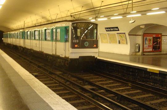 metro porte des lilas