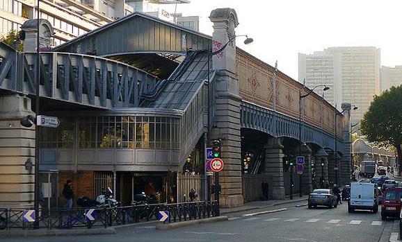 metro quai de la gare