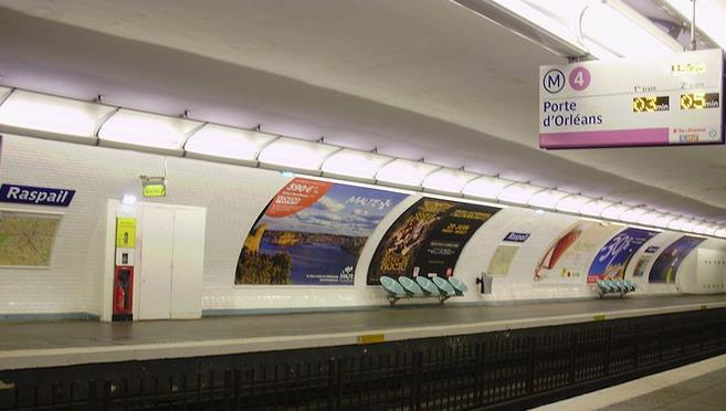 metro raspail