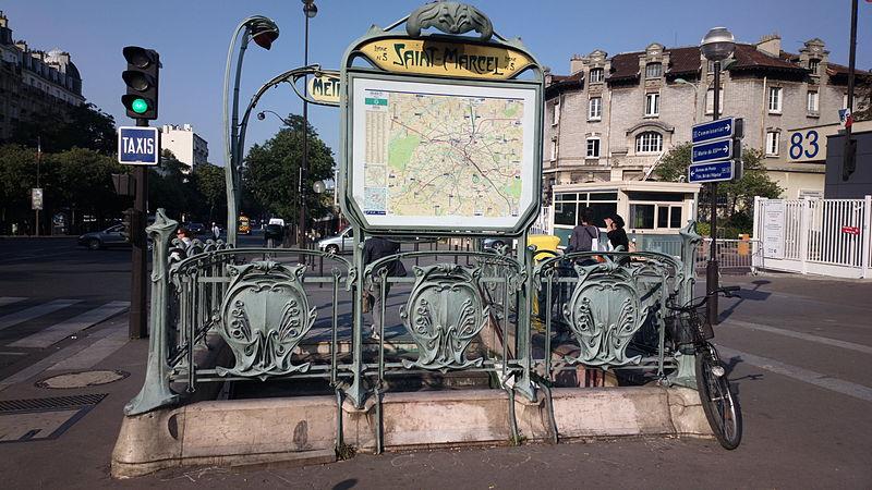 metro saint marcel