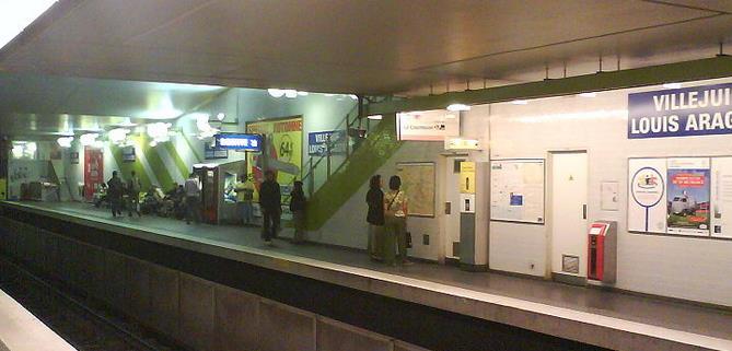 metro villejuif louis aragon