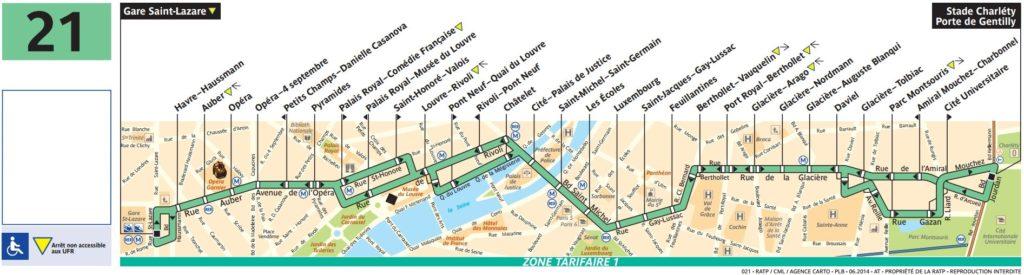 plan bus 21