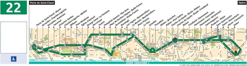 plan bus 22